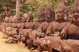 North Gate, Angkor Thom